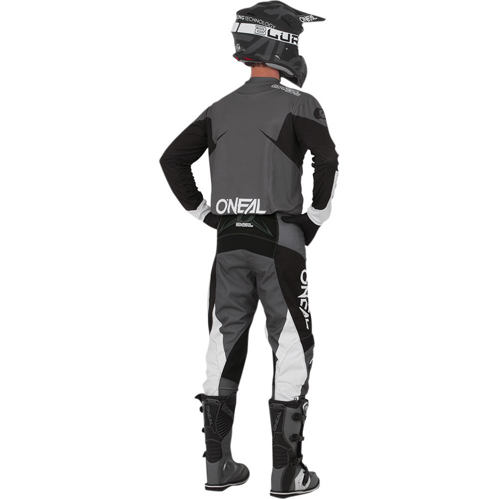 NEW Oneal Mx 2019 Element Racewear Black Motocross Dirt Bike Premium Jersey