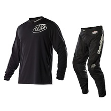 Troy Lee Designs 2015 GP Midnight Black Adult Pants + Free Matching Jersey