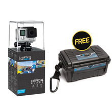 GoPro HERO 4 Black Edition Camera + FREE POV30 Black Case