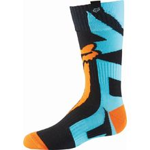 Fox 2016 Shiv Aqua/Orange Kids Socks