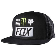 Fox Monster Energy Union Black Snapback
