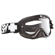 Spy 2014 Whip Black Enduro Dual Layer Lens Goggles