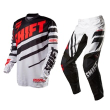 Shift Mx 2015 Assault Race Black/White Adult Gear Set