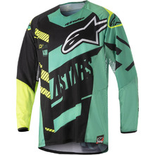 View alternative images for Alpinestars 2018 Techstar Screamer Black/Teal Gear Set