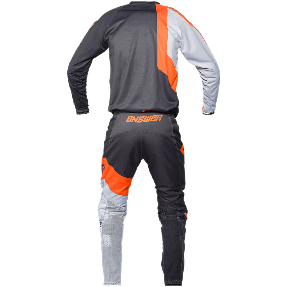 NEW-Answer-MX-2020-Syncron-Voyd-Charcoal-Grey-Orange-Dirtbike-Riding-Jersey thumbnail 13