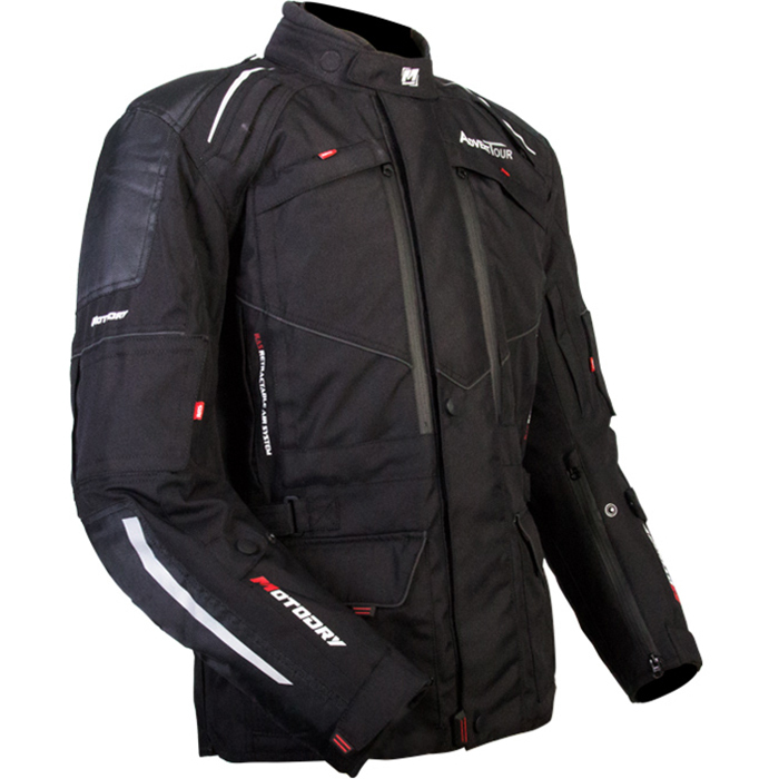 MotoDry Advent-Tour Black Jacket
