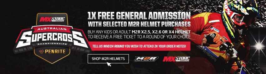Buy M2R for Free Supercross Tickets