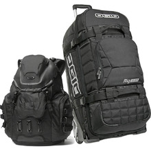 Ogio RIG Black Gear Bag & Oakley Kitchen Sink Backpack Bundle