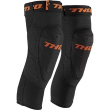 Thor Comp XP Black/Orange Knee Guards