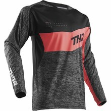 Thor 2018 Spring Fuse High Tide Black/Coral Jersey