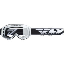 57cc14903532 Fly Racing Focus White Clear Goggles