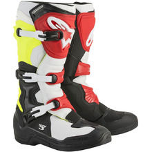 Alpinestars 2018 Tech 3 Black/White/Red Boots