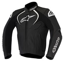 Alpinestars Jaws Leather Black Road Jacket