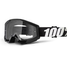100% Percent Strata Outlaw Clear Goggles