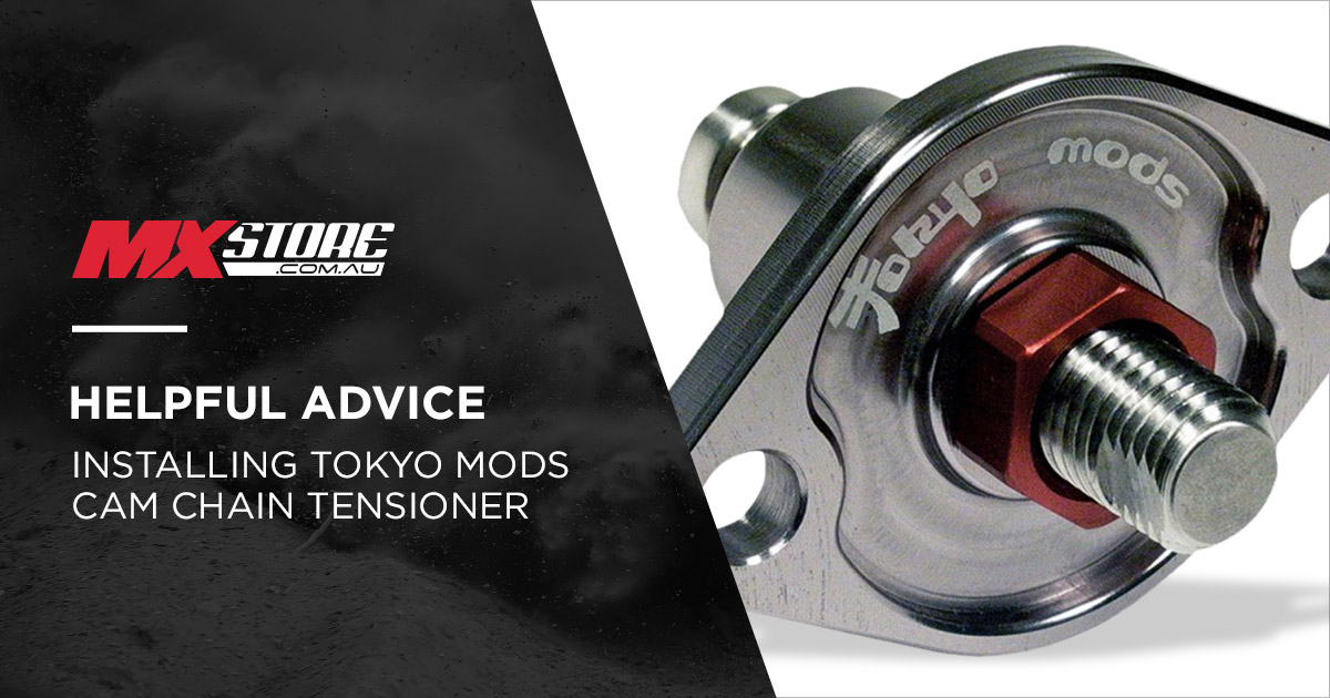How to Install a Tokyomods Cam Chain Tensioner main image