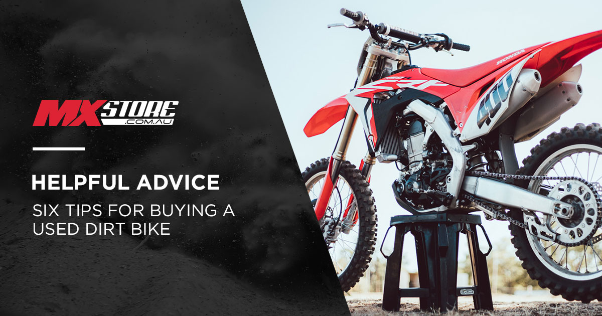 Six Tips For Buying a Used Dirt Bike main image