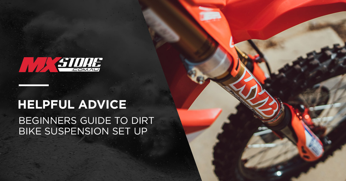 The Beginners Guide to Setting Up Your Dirt Bike Suspension main image