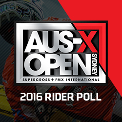 AUS-X 2016 Rider Poll Results MXstore