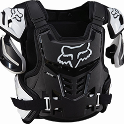 Motocross Body Armour With Side Torso Coverage
